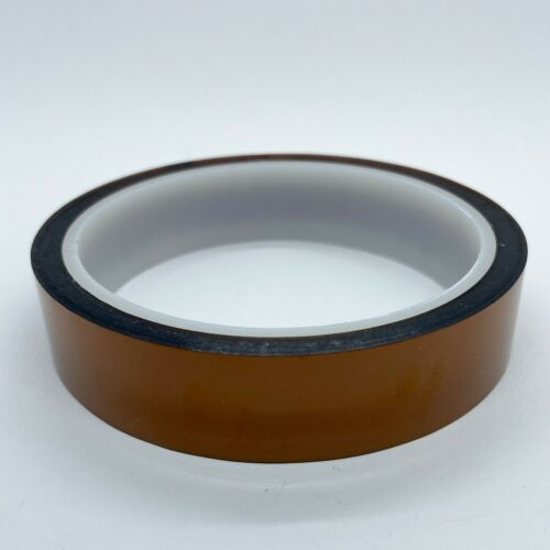 20mm X 33m 100ft High Temperature Heat Resistant Polyimide kapton-Tape; US Ship Adhesive Tapes