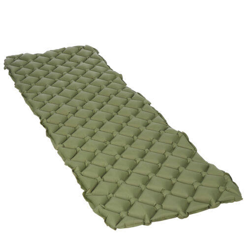 Air Mattress Inflatable Outdoor Tent Mat for Camping Hiking Travel Sleeping Pad Camping & Hiking