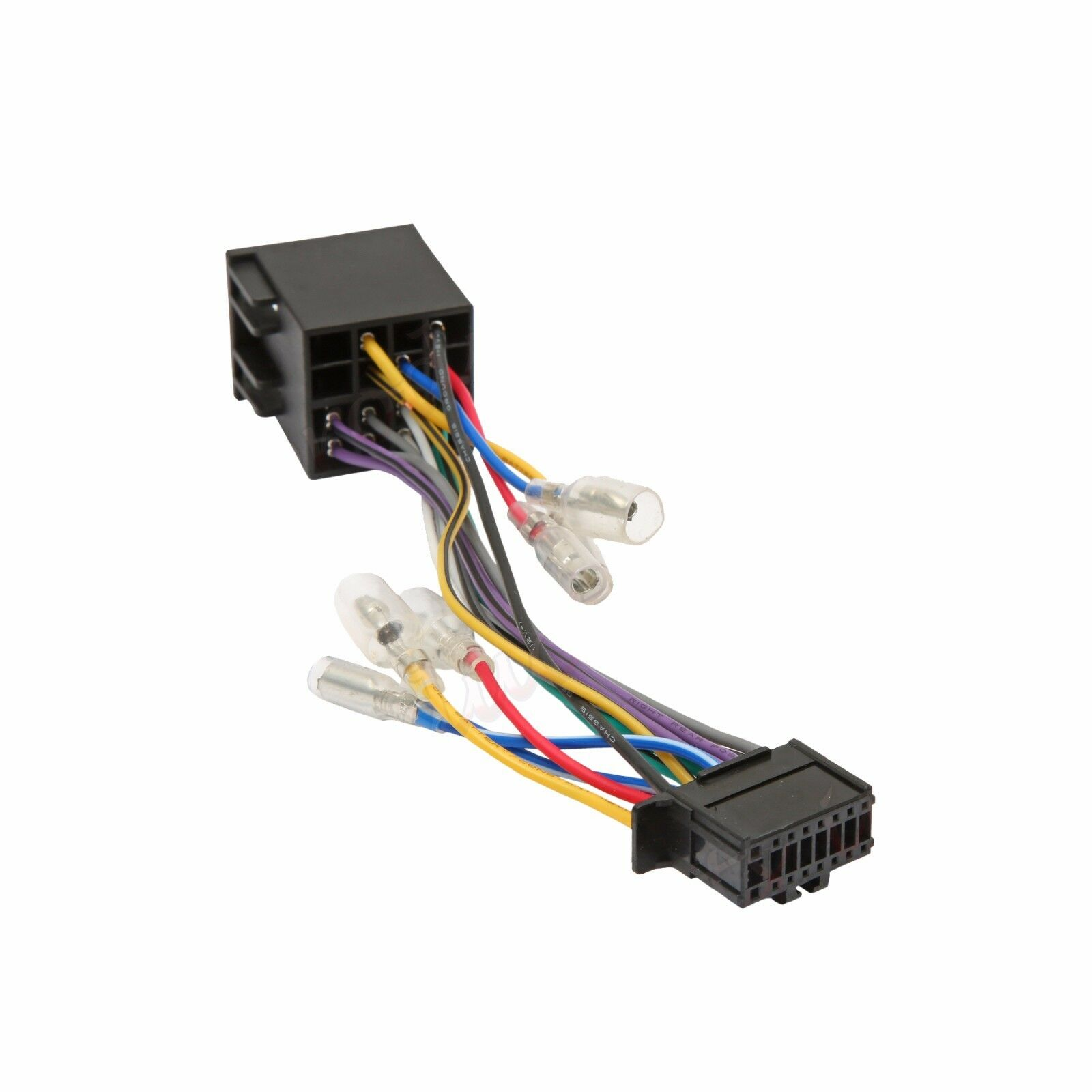 pioneer 16 pin iso wiring harness connector adaptor car stereo radio rh ebay co uk