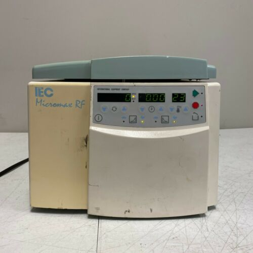 Thermo IEC Micromax RF Refrigerated Centrifuge With 24 Slot Rotor