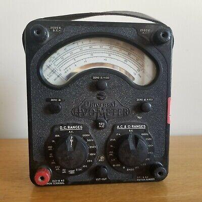 Avo Model 8 Mkii Tester Multimeter Volt Ohm Amperes Meter