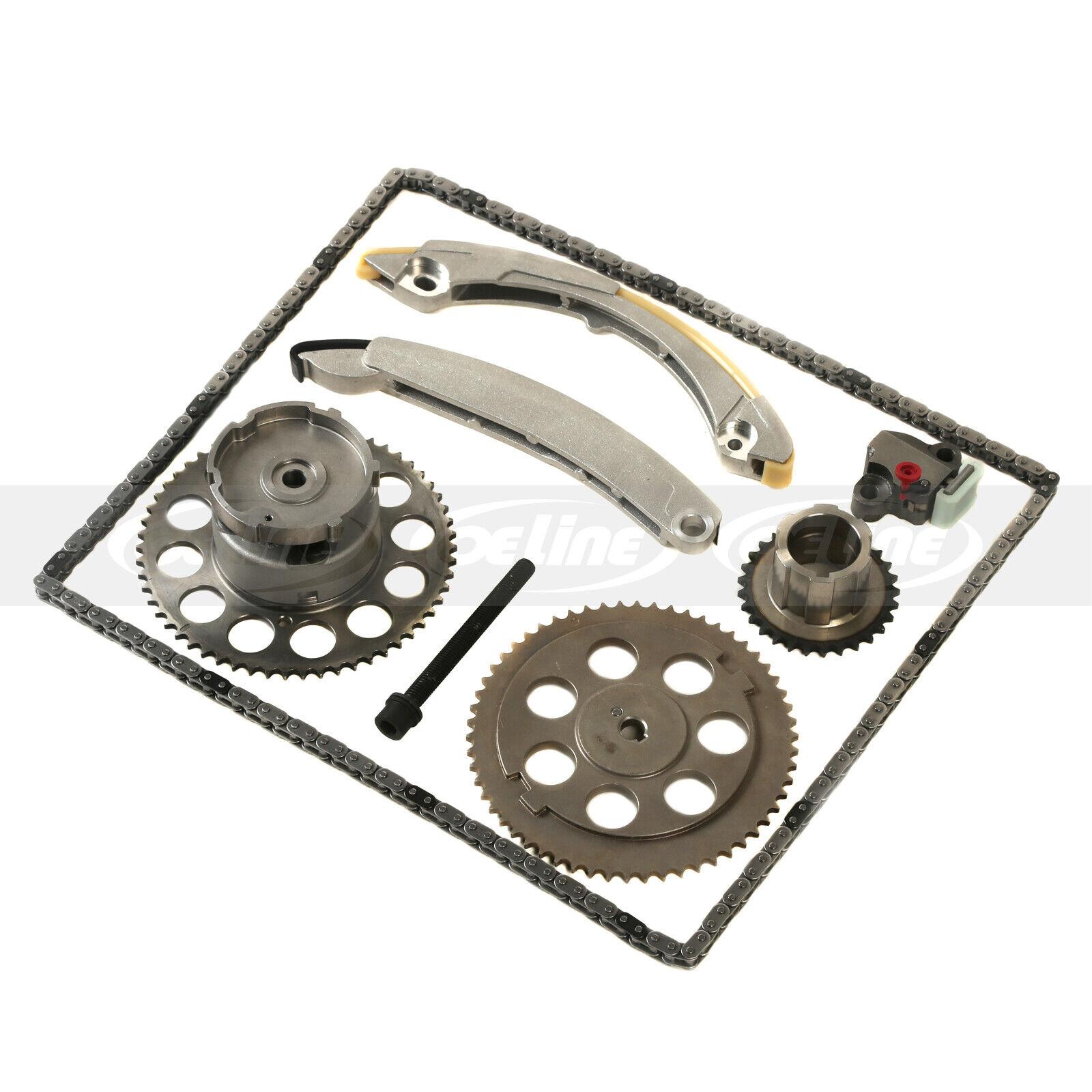 Timing Chain Kit W Vvt For 2005 Chevrolet Trailblazer Gmc Isuzu 42 Belt Fit 42l L6 Dohc