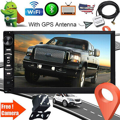 For 2005-15 FORD F150/250/350/450/550 2DIN GPS AUX CAR RADIO STEREO ANDRIOD