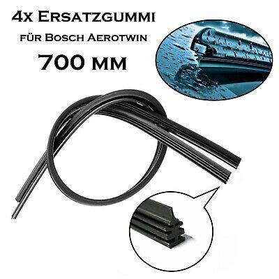 2x PREMIUM SOFT FLAT Scheibenwischer Wischerblatt Flachbalken Adapter 700//700mm