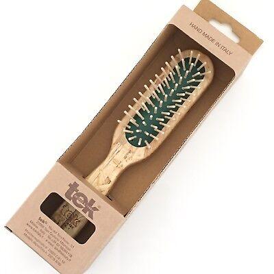 - BN Tek Rectangular Hair brush with regular pins MADE IN ITALY