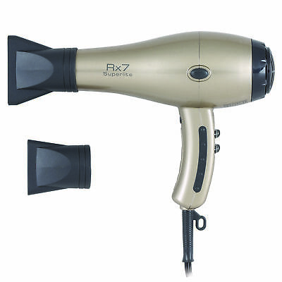 RX7 Ionic Tourmaline Hair Dryer - Champagne