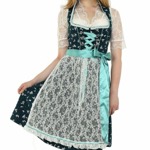 NEW!US Sz 20.NEW!Germany,German,Trachten,Oktoberfest,Dirndl Dress,3-pc,Greens