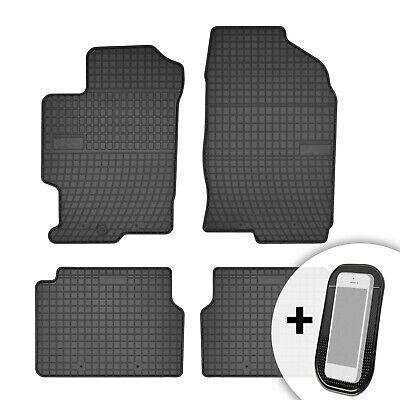 Maßgefertigte Fußmatten für Mazda 6 Velours Anthrazit Komplett Set