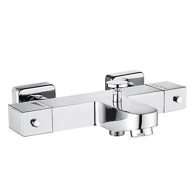 Grifo de lavabo Atlantic para bañera termostatico con bloqueo seguridad a 38º
