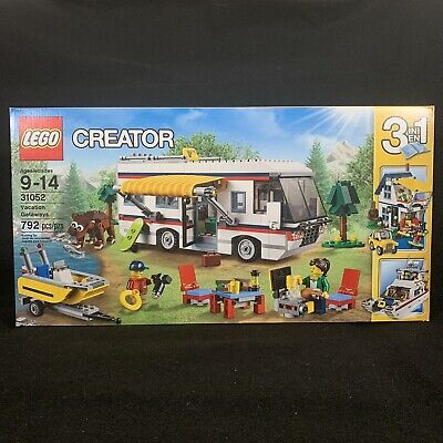 LEGO Creator Vacation Getaways! 31052 New Sealed Retired 2016 3in1 792 Pieces