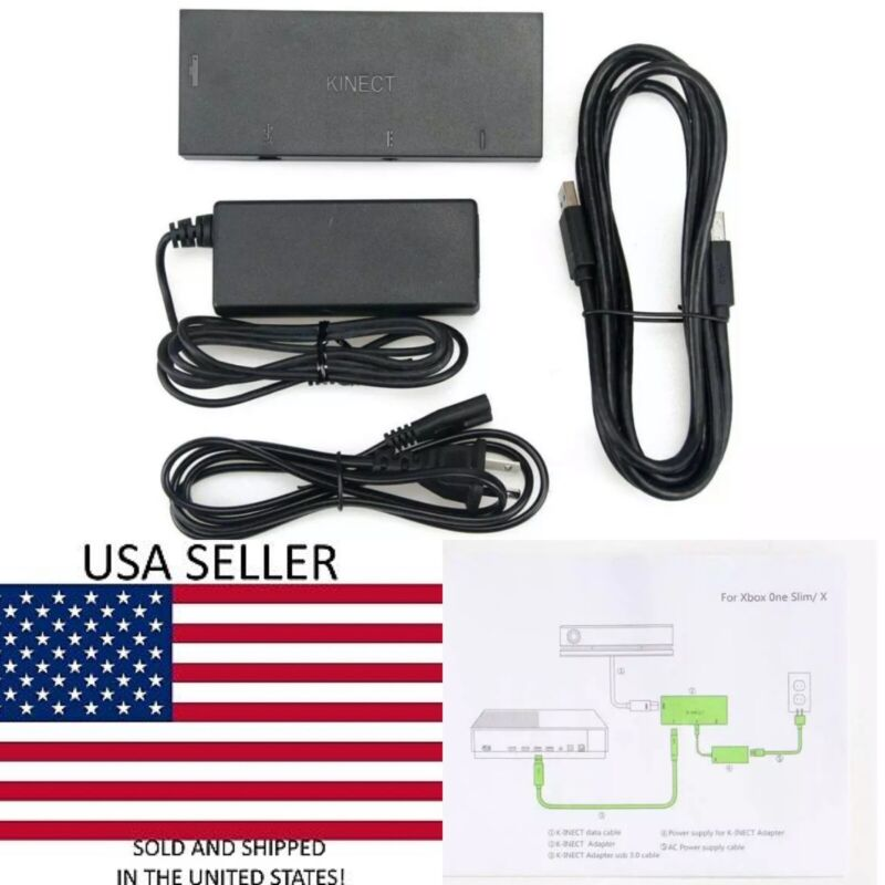 Kinect Adapter For Xbox One S/X Windows 8 8.1 10 Motion Camera Sensor