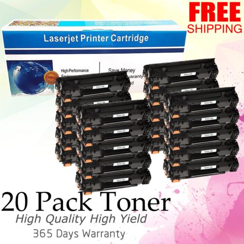 20pk C125 Toner Cartridges Fit For Canon 125 Imageclass M...
