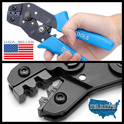 1x Electrical Wire Connector Terminal Molex Crimping Tool Wire Crimper 20-14 Awg