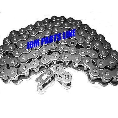 Go Kart/ Mini Bike 40 Chain X 5 Ft. Power Sports Chain 2 Master Links  Nice