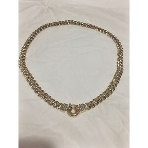 NEW RRP:$3999 9ct SOLID gold necklet with diamonds! Upper Coomera Gold Coast North Preview