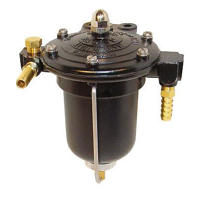 Malpassi High Flow Filter King Fuel Pressure Regulator 10mm Push On - No Gauge