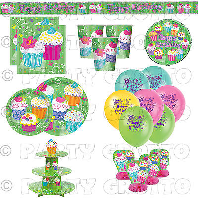 mer Garden BBQ Girls Party Supplies Tableware Decorations (Bbq Party Supplies)