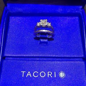 Tacori Platinum Ring Set