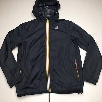 k-way love bravery windbreaker jacket mens medium