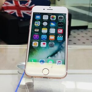 Excellent condition iphone 7 256gb rose gold tax invoice unlocked Surfers Paradise Gold Coast City Preview