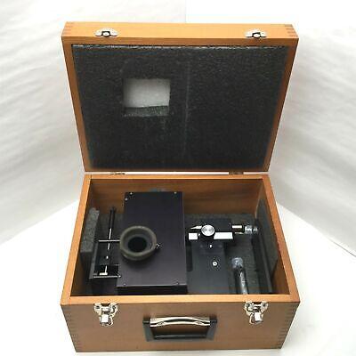 Harrick Split Pea Horizontal Internal Reflection Atr Micro Sampler With Case