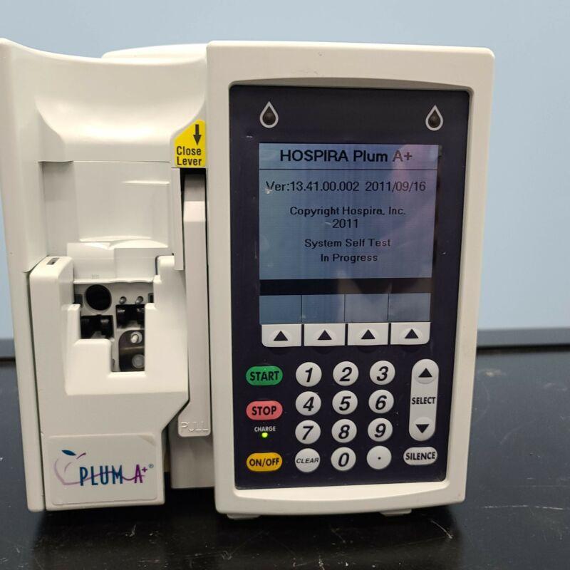 Hospira Abbott Plum A+ one 1 Infusion System IV Pump - Original Battery