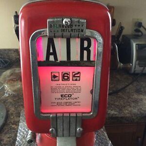 Eco Air Meter Tireflator gas Service Station Air Tire Pump