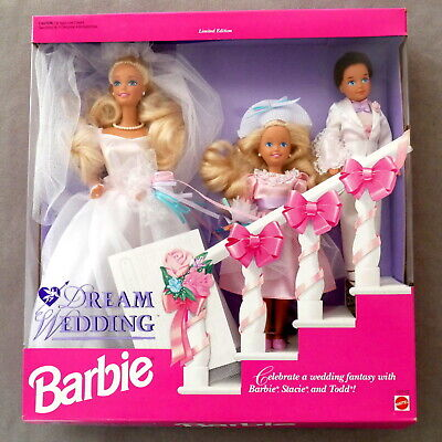 Barbie 1990s As Seen in Exclusives Book II Gift Set LE DREAM WEDDING USA SELLER