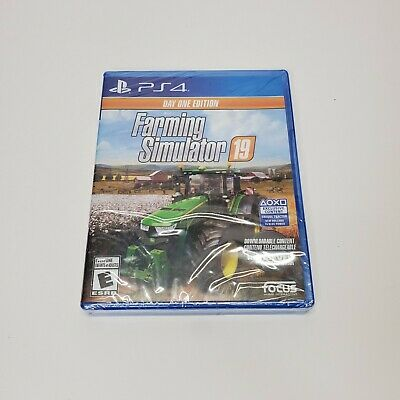 Farming Simulator 19 Day One Edition, PS4, Playstation 4