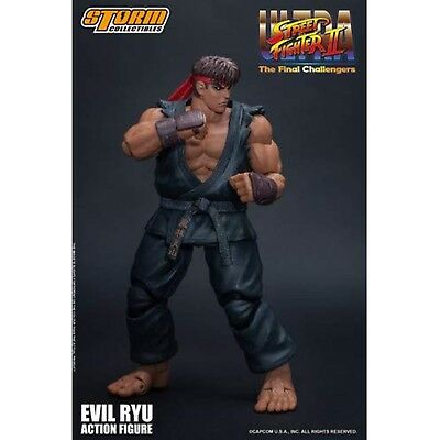 Storm Collectibles Street Fighter II Ultra Final Evil Ryu 7 Inch Action Figure for sale  Shipping to India