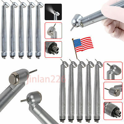 Fda Dental 45 Degree Led Handpiece High Speed Push Turbine Nsk Style 4 Hole Xmxg