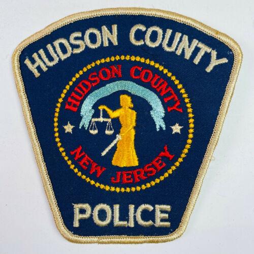 Hudson County Police New Jersey Patch (A2)