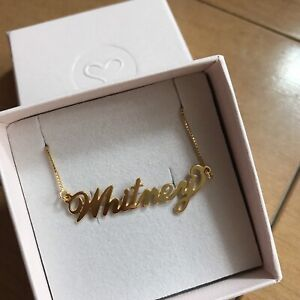 "Sex and the City ""Carrie"" necklace in ""Whitney"" (Brand New)"