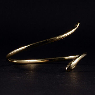 Tiffany & Co. Schlangenarmreif 18 Karat Gold, Originaldesigns by Elsa Peretti