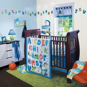 Lambs & Ivy 7 pc baby Boy crib bedding set - NEW IN PACKAGE