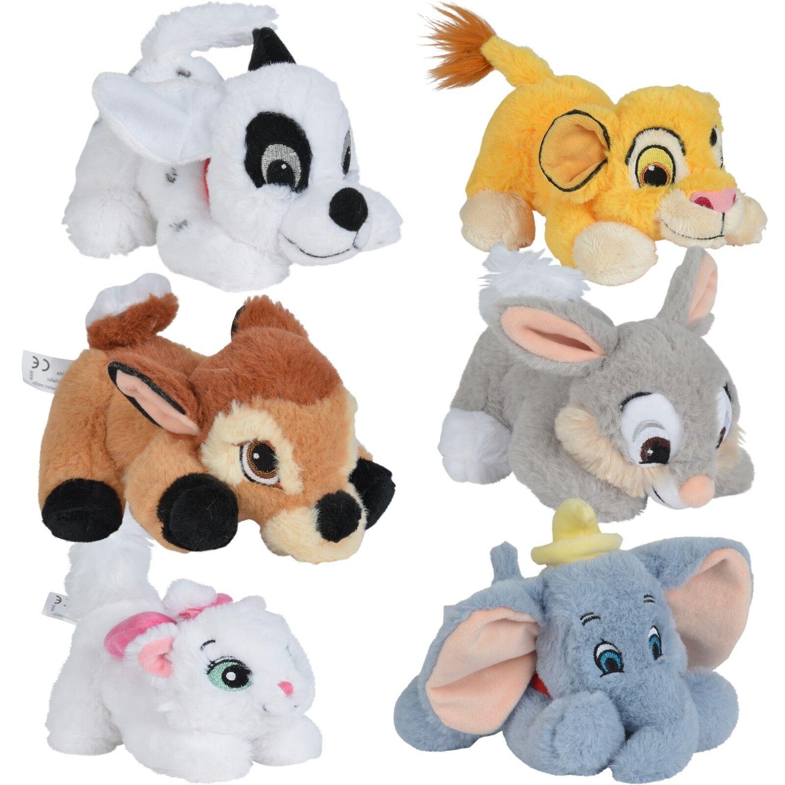 Disney Plüschfigur Kuscheltier Plüschtier Bambi Dalmatiner Dumbo Simba Klassic