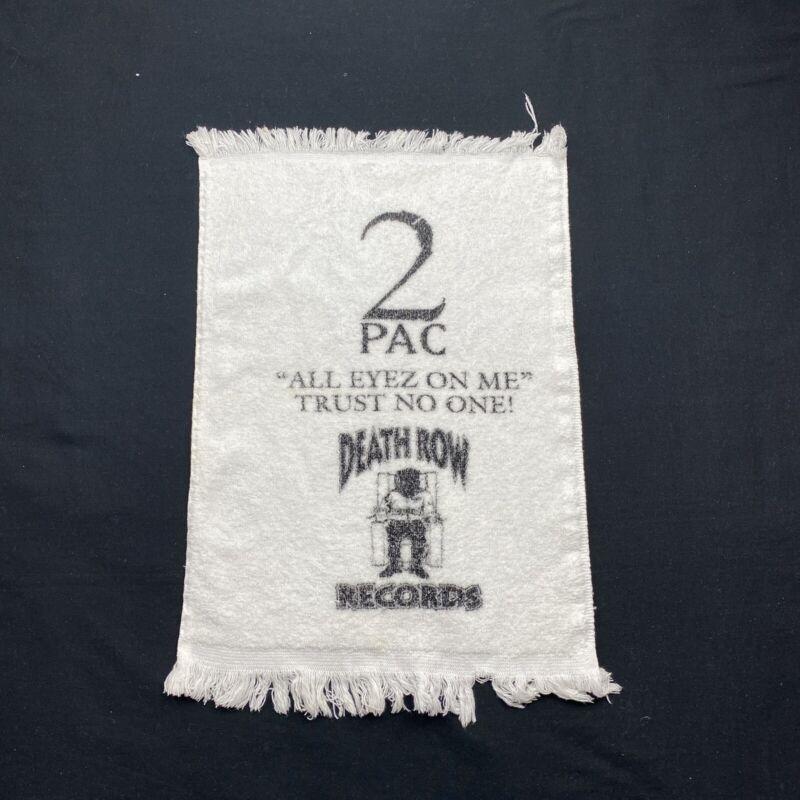 Vintage Tupac 2pac All Eyes On Me Promo Towel Rare