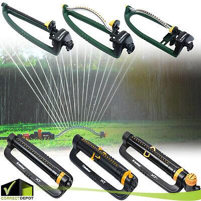 Oscillating Lawn Sprinkler Adjustable Water Range Yard Watering Garden Sprayer ()