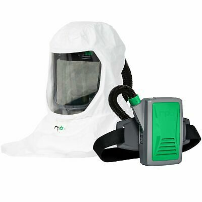 Respirator Hood Wpapr - Battery Powered Hepa Filtered Air Purifier Made In Usa