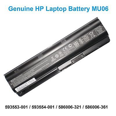 Long Life Original Notebook Laptop Battery HP MU06 MU09 593554-001 593553-001