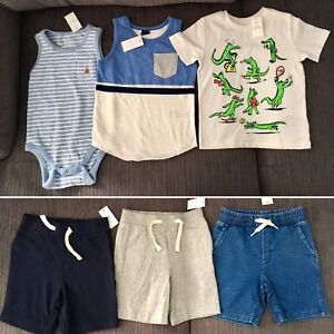 Bnwt size 2t boys summer clothes