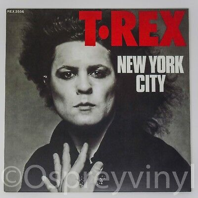 """T.Rex Marc Bolan New York City Brand New 7"""" vinyl single Great sleeve for sale  Shipping to Ireland"""