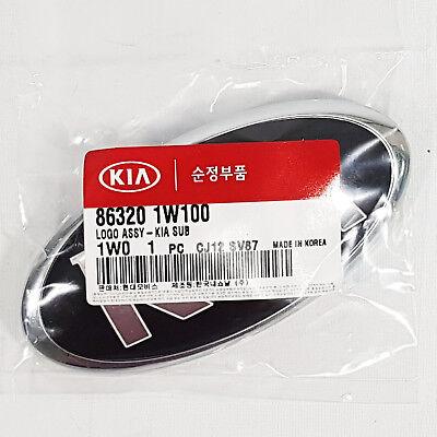 863201W100 Front Hood Grill KIA Logo Emblem 129(130)mm For Kia Rio 2012-2014