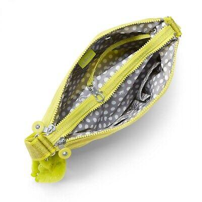 Kipling Top Zip Alvar Crossbody Bag Handbag New - Dazzaling Yellow
