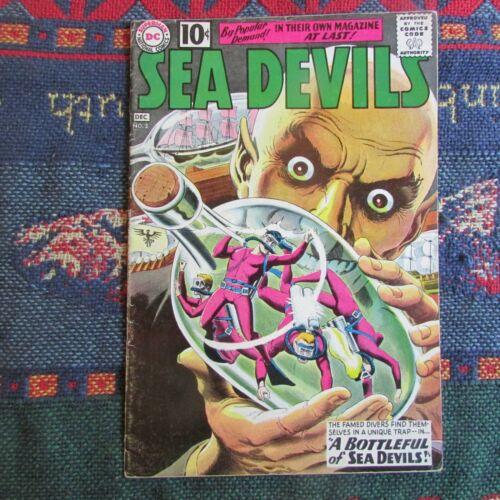 SEA DEVILS #2  RUSS HEATH GREY-TONE Cover