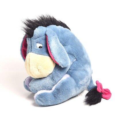 Walt Disney Plush Eyore with Tail Winnie the Pooh Character Sad Eyore 12 inch