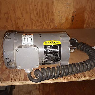 Baldor Industrial Motor 1 Hp 1725 Rpm Vm3546 34g794x269 208-230460v
