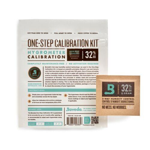 Boveda 1-Step 32% RH Calibration Kit | Precise Test for Hygrometers | 1-Count