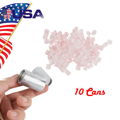 Small 10cansbag Dental Materials Denture Flexible Acrylic With Blood Streak Ce