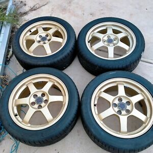 Wrx gc8 wheels sti version 6 type ra